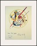 Aquarelle aus Dem, 1922 Prints by Wassily Kandinsky