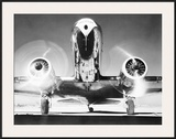 Front View of Passenger Airplane Print