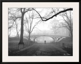 Gothic Bridge, Central Park, New York City Poster by Henri Silberman