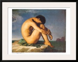 Young Male Nude, 1855 Poster by Hippolyte Flandrin