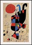 Upside-Down Figures Posters by Joan Miró