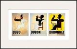 Dubonnet Poster by Adolphe Mouron Cassandre
