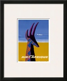 Air Afrique - Gazelle Posters by Bernard Villemot