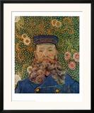 Portrait of the Postman Joseph Roulin, c.1889 Posters by Vincent van Gogh