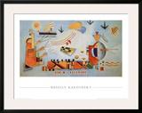 Milder Vorgang, 1928 Print by Wassily Kandinsky