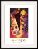Multicolored Resonance, c.1928 Poster by Wassily Kandinsky