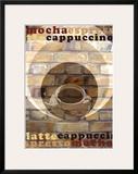 Mocha Espresso Poster by Kelvie Fincham