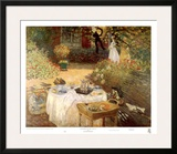 Luncheon in the Garden Posters by Claude Monet