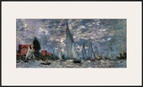 Regatta in Argenteuil Prints by Claude Monet