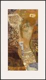 Sea Serpents II, c.1907 Posters by Gustav Klimt