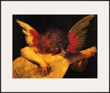 Musician Angel Prints by  Rosso Fiorentino (Battista di Jacopo)