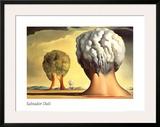 Les Trois Sphinx de Bikini Art by Salvador Dalí