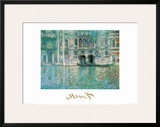 Palazza da Mula a Venezia Prints by Claude Monet