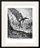 Don Quixote and the Windmill Posters by Gustave Doré