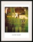 Castello Sul Lago Atter Prints by Gustav Klimt