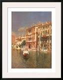 The Grand Canal, Venice Prints by Rubens Santoro