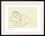 Jeune Fille avec Tiare Prints by Henri Matisse