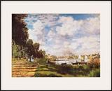 II Bacino Di Argenteuil Posters by Claude Monet