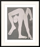 L'acrobate (The Acrobat) Poster by Pablo Picasso