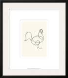 Le coq, c.1918 Prints by Pablo Picasso