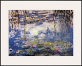 Water Lilies Art by Claude Monet