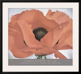Red Poppy, c.1927 Prints by Georgia O'Keeffe