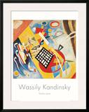 Trame Noire, c.1922 Poster by Wassily Kandinsky