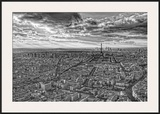 Overlooking Paris Prints by Randy Harris
