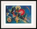 Im Blau Art by Wassily Kandinsky