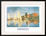 Regatta at Argenteuil Prints by Claude Monet