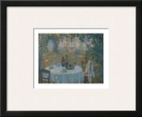 Tea on the Terrace Prints by Henri Le Sidaner