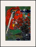 Blumenstilleben St.Jean Cap Ferrat, 1956 Prints by Marc Chagall