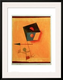 Conqueror Framed Giclee Print by Paul Klee