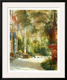 The Palm House Posters by Karl Blechen