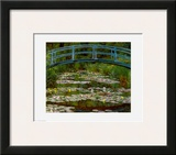 Bridge at Giverny Print by Claude Monet