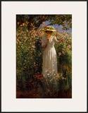Summer's Day in the Flower Garden Prints by Robert Payton Reid