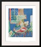 Petit Interieur en Bleu, c.1947 Posters by Henri Matisse