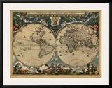 World Map, c.1664 Art