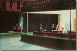 Nighthawks, c.1942 Stretched Canvas Print by Edward Hopper
