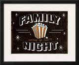 Family Night Prints by Jo Moulton