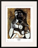 Woman in an Armchair Prints by Pablo Picasso