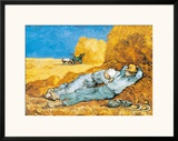 La Siesta Poster by Vincent van Gogh