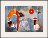 Rond et Pointu, c.1939 Posters by Wassily Kandinsky