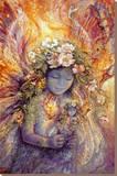 The Fairy's Fairy Płótno naciągnięte na blejtram - reprodukcja autor Josephine Wall