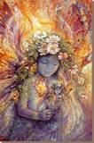 The Fairy's Fairy Stretched Canvas Print by Josephine Wall