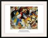 Bild Mit Weiber Form Posters by Wassily Kandinsky