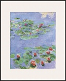 Water Lilies, c. 1914-1917 Art by Claude Monet
