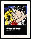 Kiss II, c.1962 Art by Roy Lichtenstein