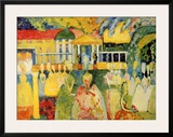 Dame in Krinolinen Prints by Wassily Kandinsky