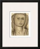 Madame Lucienne Bernard, c.1946 Prints by Henri Matisse